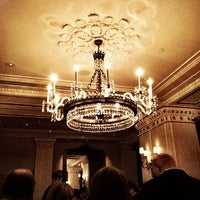 Photo taken at The Jefferson Hotel by Lindsey M. on 2/7/2012