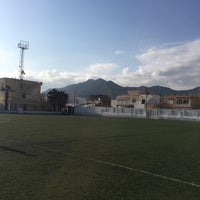 Photo taken at Stade Slaheddine Bey (CSHL) by Amine J. on 3/13/2016