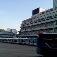 Photo taken at Seoul Express Bus Terminal by Anton R. on 4/29/2013