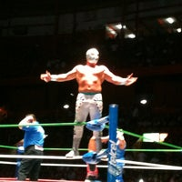 Photo taken at Arena México by Rafael G. on 10/27/2012