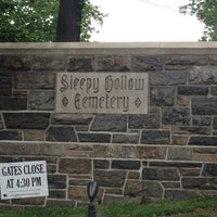 Photo taken at Sleepy Hollow Cemetery by Brian B. on 6/16/2013
