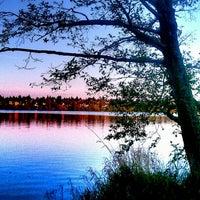 Photo taken at Green Lake Loop by SeattleRevealed on 4/25/2013
