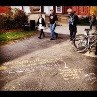 Photo taken at Hamilton Smith Hall by Jason B. on 10/23/2012