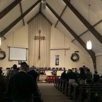 Photo taken at Kennesaw United Methodist Church (UMC) by Cassandra B. on 12/15/2013