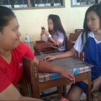 Photo taken at SMA 9 Binsus Manado by Maureen L. on 8/22/2013