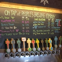 Photo taken at People's Brewing Company by Ken S. on 5/27/2016