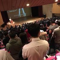 Photo taken at 강남구민회관 by Sunggon Ryan M. on 11/9/2016