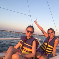 Photo taken at Paraw Sailing by Kat D. on 3/4/2014
