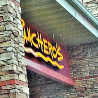 Photo taken at Pancheros Mexican Grill by AJ H. on 3/22/2013