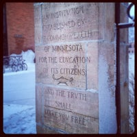 Photo taken at Minnesota State University Moorhead by Louis Z. on 12/3/2013