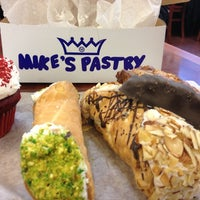 Photo taken at Mike's Pastry by Kirsten P. on 4/12/2013