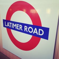 Photo taken at Latimer Road London Underground Station by Mark M. on 11/15/2013