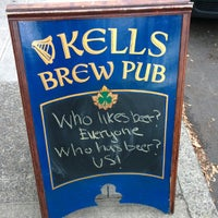 Photo taken at Kells Brew Pub by Tyler S. on 9/4/2013