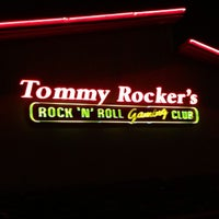Photo taken at Tommy Rocker's Mojave Beach Bar & Grill by Dr. Adam P. Z. on 12/29/2012