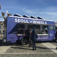 Photo taken at Seoul On Wheels by cbcastro on 2/5/2016