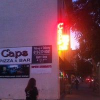 Photo taken at Cap's Pizza & Bar by Diana T. on 10/18/2012