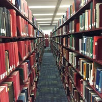 Photo taken at Langson Library (LLIB) by Yasin D. on 9/24/2014