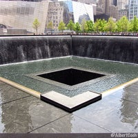 Photo taken at National September 11 Memorial & Museum by Albert C. on 5/28/2013