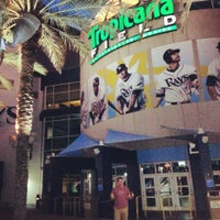 Photo taken at Tropicana Field by Laura on 4/19/2013