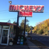 Photo taken at Mickey's Diner by Jeff on 11/2/2013