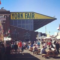 Photo taken at York Fairgrounds & Expo Center by Kristen on 9/6/2013