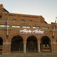 Photo taken at Alaska Airlines Arena by Ryan S. on 1/21/2013