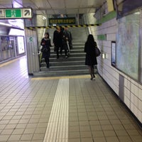 Photo taken at Euljiro 1(il)-ga Stn. by Jae Hyun K. on 1/22/2013