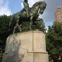 Photo taken at George Washington Statue by Doug B. on 7/20/2013