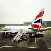 Photo taken at London City Airport (LCY) by Roman on 5/20/2013