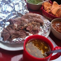 Photo taken at Los Tres Reyes - Barbacoa by Dany C. on 11/11/2012