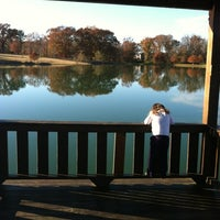 Photo taken at Lamar Park-Lake Patsy by Sarah S. on 11/19/2012