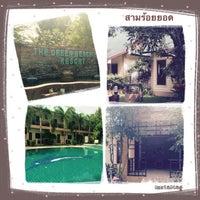 Photo taken at The Green Beach Resort @ Pranburi by Catcatt .. on 10/16/2014