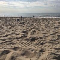 Photo taken at Brighton Beach by Natalie B. on 10/19/2016