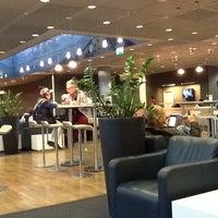 Photo taken at Lufthansa First Class Lounge by Csaba M. on 10/14/2012