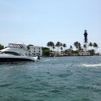 Photo taken at Hillsboro Inlet Lighthouse by Chuck R. on 5/12/2013