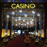 Photo taken at Seven Luck Casino by Yusuke K. on 12/23/2012