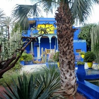 Photo taken at Jardin de Majorelle by luCkyTiv on 11/18/2012