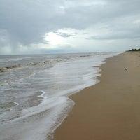 Photo taken at Playa de Boca de Uchire by Frank B. on 6/14/2013