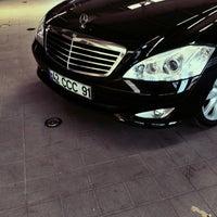 Photo taken at Mercedes-Benz by Uğur K. on 8/29/2015