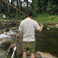 Photo taken at 湯沢フィッシングパーク by pen_k k. on 8/27/2016