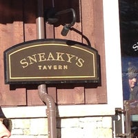 Photo taken at Sneaky's Tavern by Stephanie Q. on 1/2/2013
