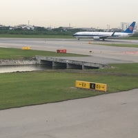 Photo taken at Runway 01R/19L by Amar M. on 8/19/2016