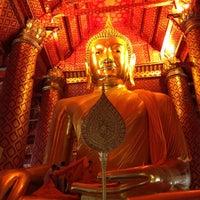 Photo taken at Wat Phananchoeng by Yves K. on 3/28/2013