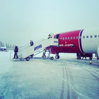 Photo taken at Kittilä Airport (KTT) by Patrick S. on 2/6/2013