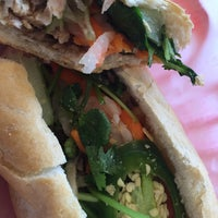Photo taken at Banh mi Saigon sandwiches & bakery by bryan b. on 1/14/2015