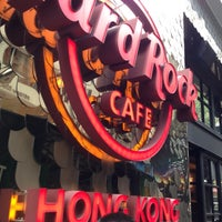 Photo taken at Hard Rock Café Hong Kong by Łukasz T. on 10/17/2012