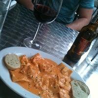 Photo taken at Bavaro's Pizza Napoletana & Pastaria by Milissa R. on 3/31/2012