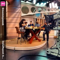 Photo taken at Windy City LIVE @ WLS ABC7 Studios by Fuzzy L. on 5/4/2015