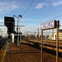 Photo taken at Station Mechelen by Willem v. on 11/11/2013