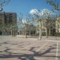 Photo taken at Plaça Del Pati by Joan P. on 5/1/2013